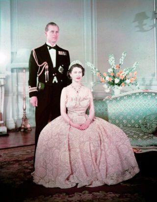 Elizabeth II en Philip, 1950