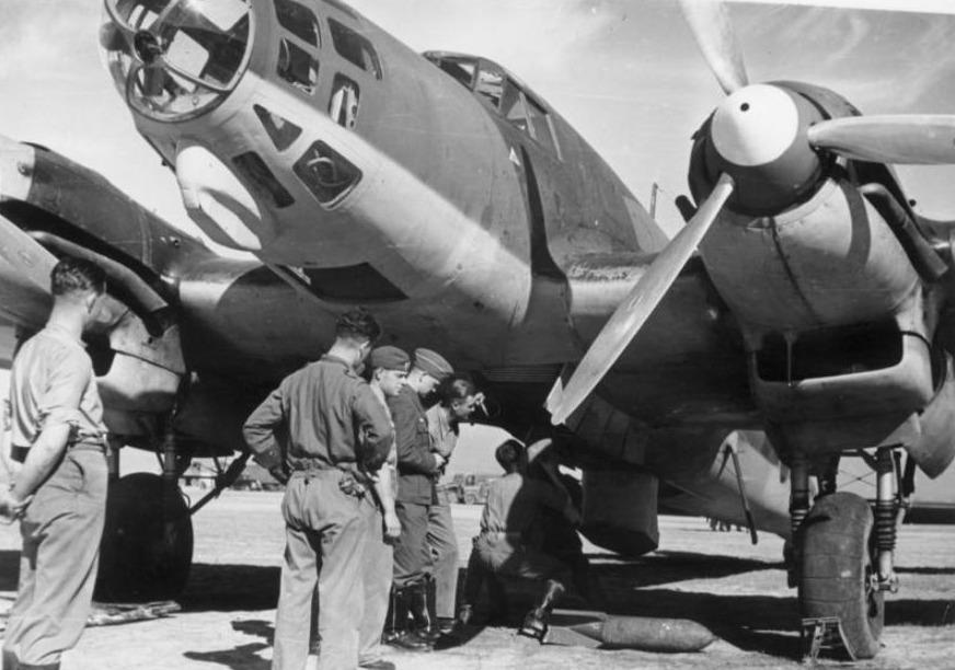 Duitse Heinkel-bommenwerper van het Condorlegioen