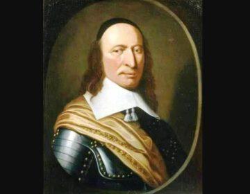 Portret van Peter Stuyvesant