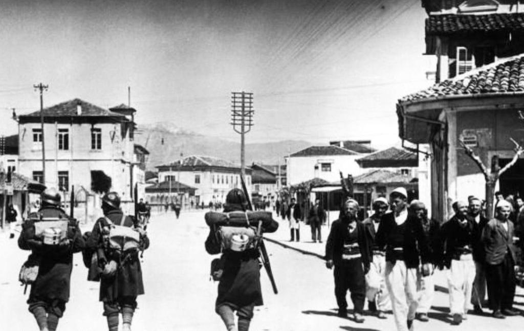 Italiaanse troepen in Albanië, 1939