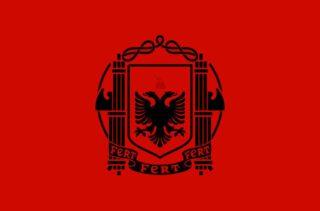 Vlag van Albanië onder Italiaans bewind