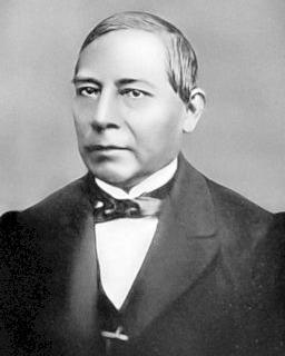 Mexicaanse president Benito Juárez