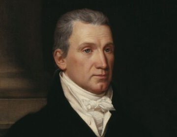 Monroe-doctrine - De Amerikaanse president James Monroe