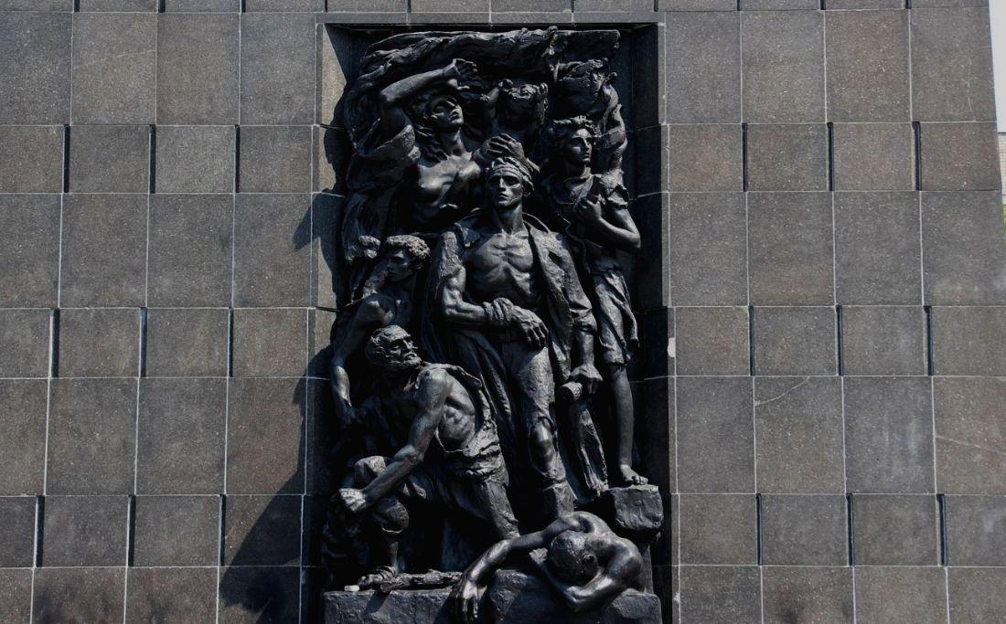 Monument ter herinnering aan de Opstand in het Getto van Warschau