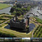 Stelling van Amsterdam in 360º vanuit de lucht te bekijken