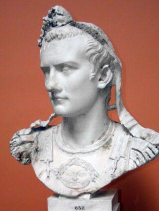 Buste van Caligula