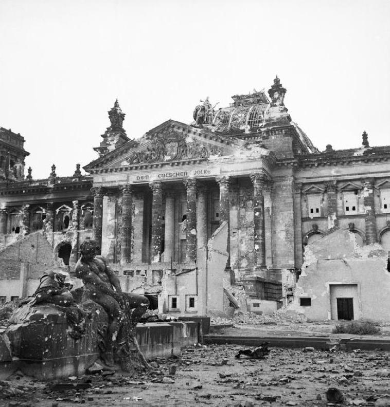 Reichstag in 1945