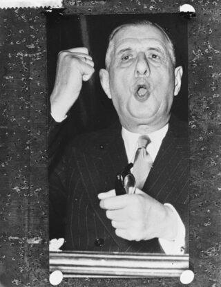 Charles de Gaulle in 1958