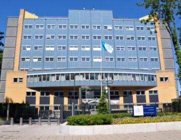 Gebouw in Leidschendam waar van 1993-2002 de BVD en tot eind 2007 de AIVD gevestigd was