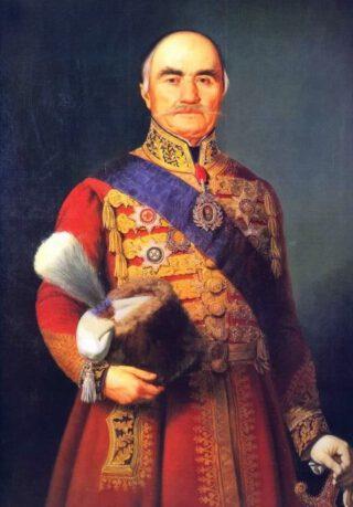 De Servische prins Milos Obrenović