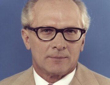 DDR-leider Erich Honecker in 1976