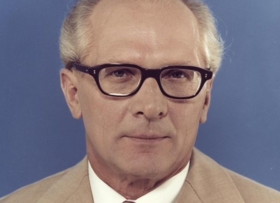 DDR-leider Erich Honecker in 1976