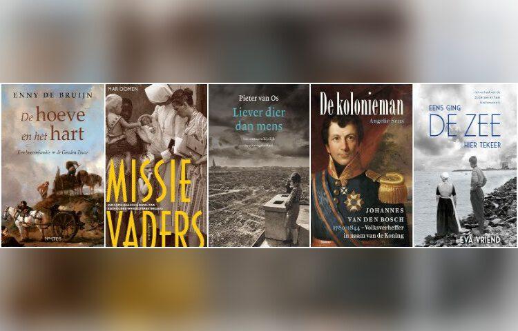 Shortlist van de Libris Geschiedenis Prijs 2020