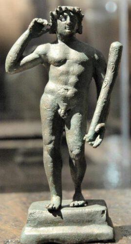 Bronzen beeldje van de held Herakles uit Aï-Khanoum, 2de eeuw v.Chr., Musée Guimet