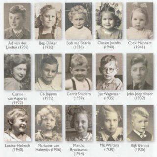De verhalen van vijftien 80-plussers, die toen kinderen waren, vormen de 'rode draad' in het boek.