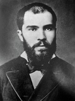 De Bulgaarse premier Stefan Nikolov Stambolov