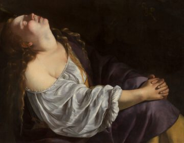 Maria Magdalena in extase - Artemisia Gentileschi, ca.1620-25
