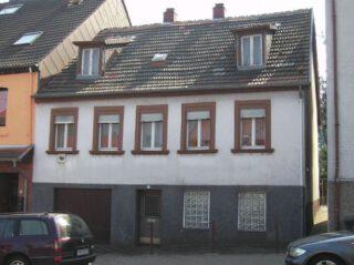 Ouderlijk huis van Honecker in Wiebelskirchen