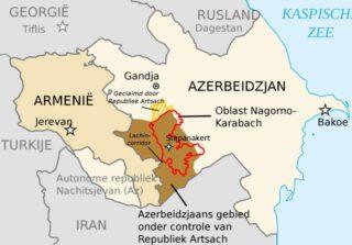 Armenië, Nagorno-Karabach en Azerbeidzjan