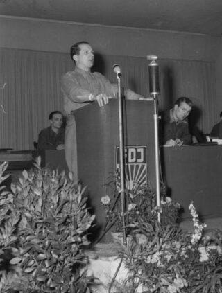 Honecker als leider van de FDJ, 1946