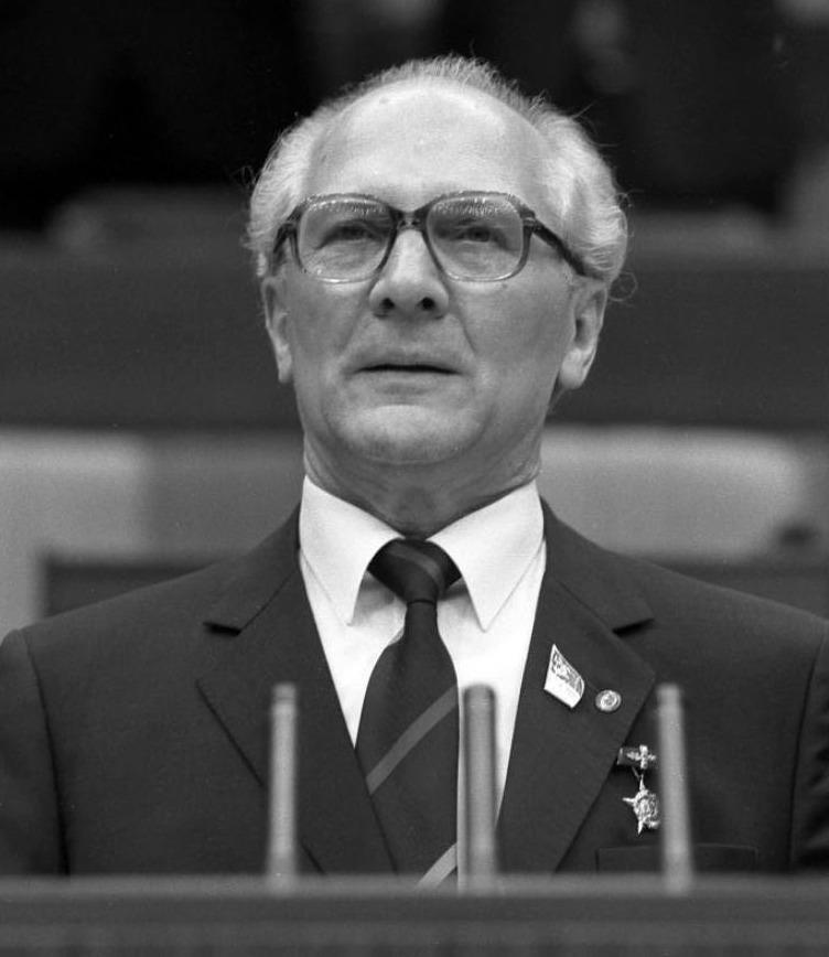 Erich Honecker in 1986