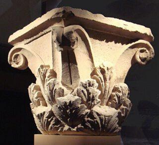 Korinthische kapiteel uit de citadel van Aï-Khanoum