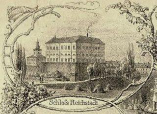 Schloß Reichstadt, waar de overeenkomst over de verdeling van de invloedssferen gesloten werd