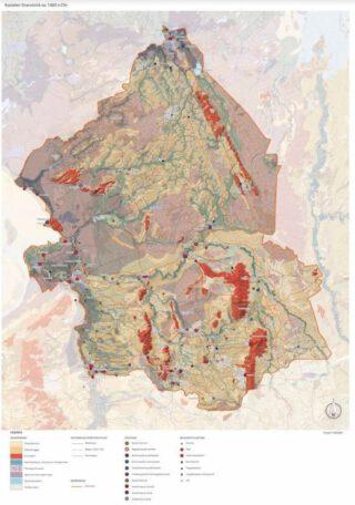 Kastelen in het Oversticht, ca. 1400 na Christus