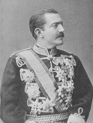 Milan IV Obrenović van Servië