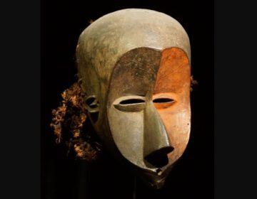 Masker in de collectie van het Afrikamuseum