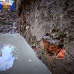 Resten Spaanse Schans Lammen gevonden in Leiden