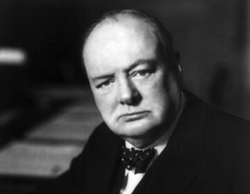 Winston Churchill in 1941 - Foto van Walter Stoneman