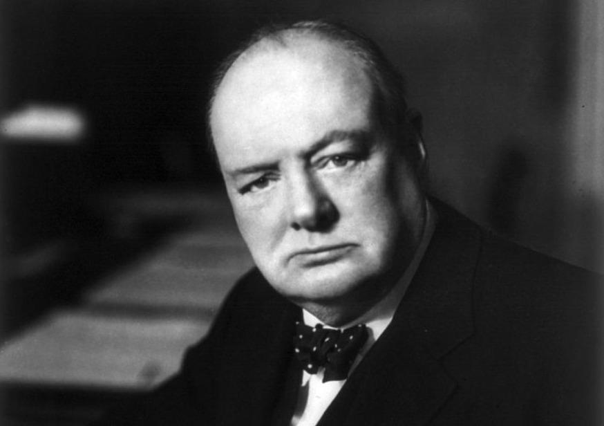 Winston Churchill in 1941 - Foto van Walter Stoneman