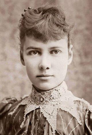 Elizabeth Cochrane, ofwel Nellie Bly ca. 1890