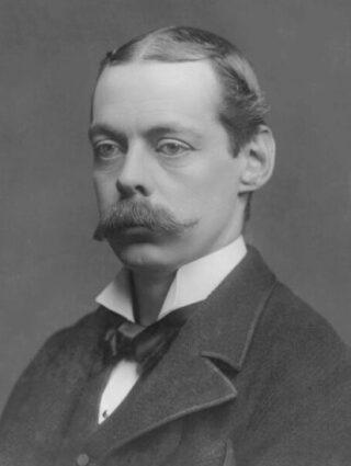 Lord Randolph, de vader van Winston Churchill