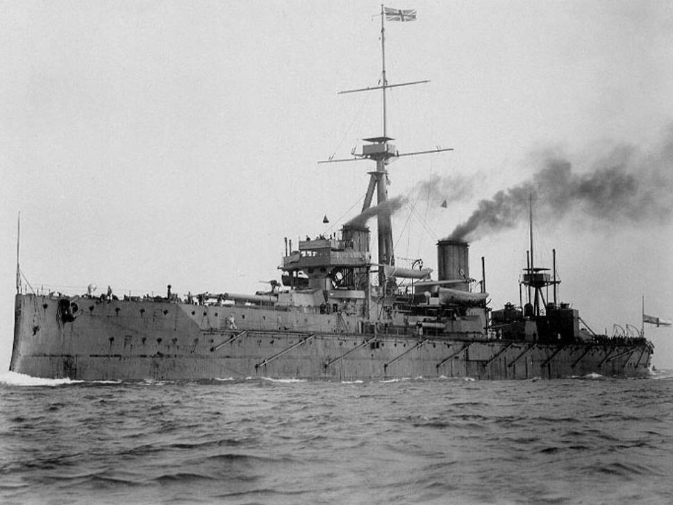 Slagschip HMS Dreadnought, 1906