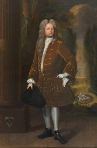 Portret van William Stukeley door Richard Collins