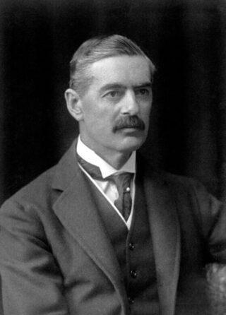 Chamberlain in 1921