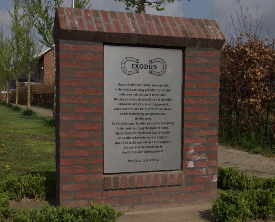 Exodusmonument in Huissen