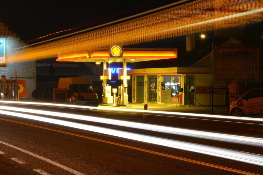 Accijns - Tankstation