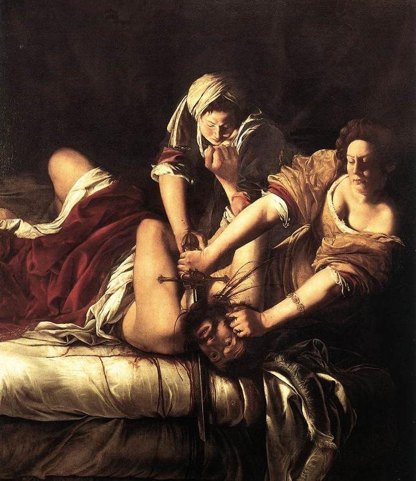 Judith onthoofdt Holofernes - Artemisia Gentileschi