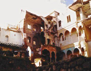Algerijnse Oorlog - Restanten van een gebouw in Algiers waar enkele FLN-leiders zich schuil hielden. Foto uit 2011