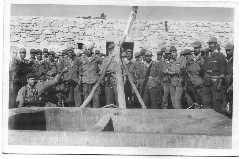 Algerijnse Oorlog - Algerijnse rebellen in de bergen