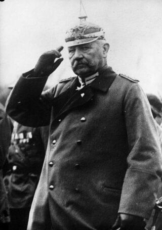 Paul von Hindenburg in 1925