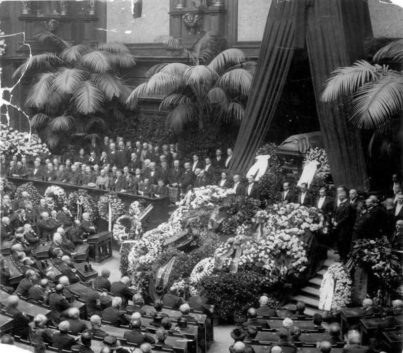 Staatsbegrafenis van Walther Rathenau