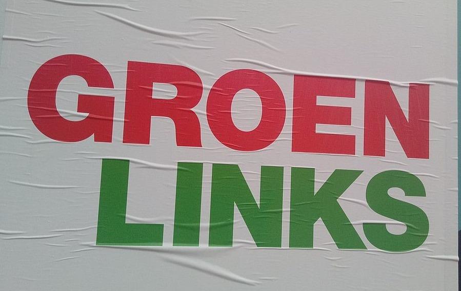 GroenLinks - Verkiezingsposter in Oude Pekela, 2019
