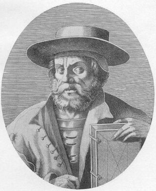 Manuel Chrysoloras (1355 – 1415). Gravure van Nicolas III de Larmessin, 1862.