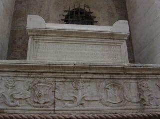 Graf van Plethon in de Tempio Malatestiano (1465), Rimini