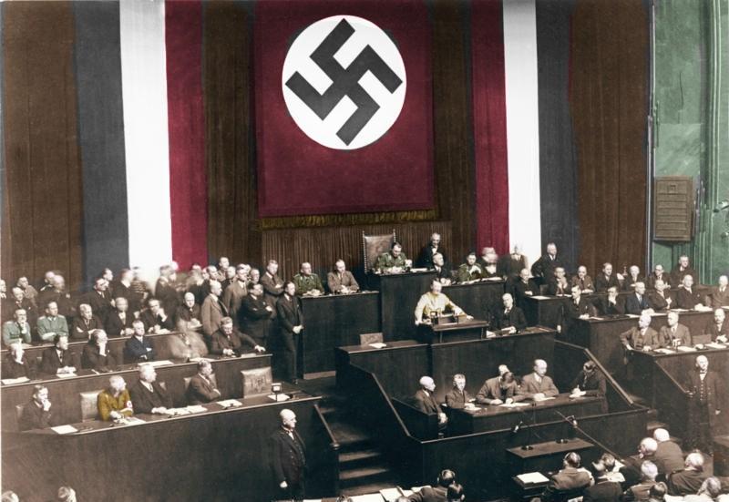 Toespraak van Hitler voor de machtigingswet