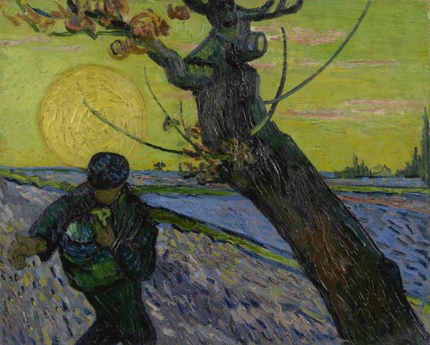 Vincent van Gogh, De zaaier, olieverf op doek, 32.5 cm x 40.3 cm, Van Gogh Museum, Amsterdam (Vincent van Gogh Stichting)